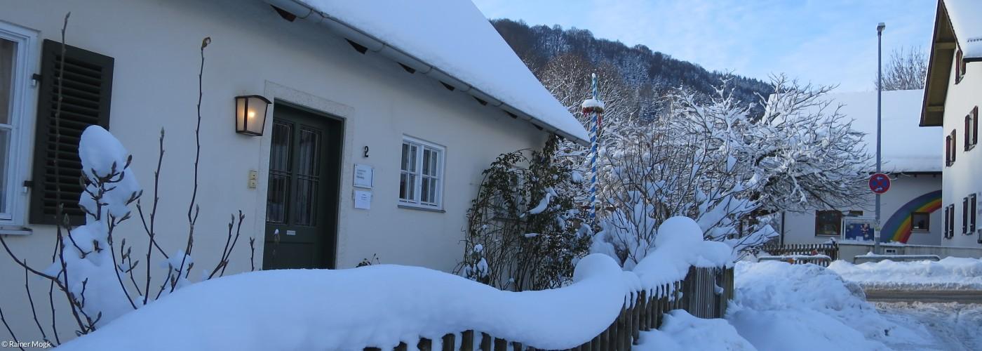 Pfarramt Winter Schnee