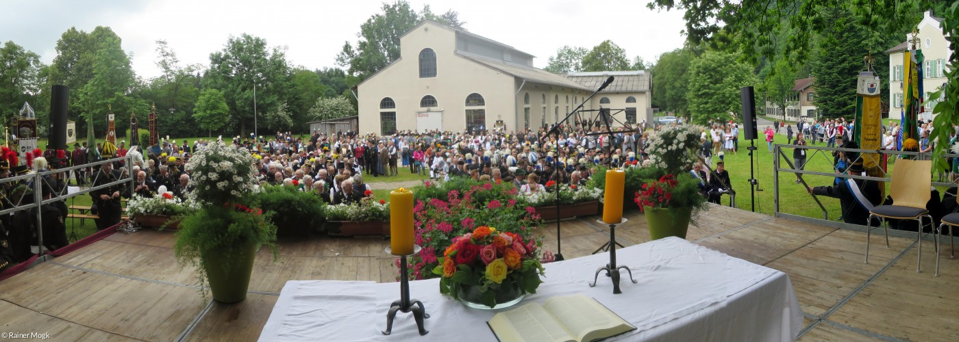 ökum Gottesdienst Tiefstollenhalle Bergmannstag