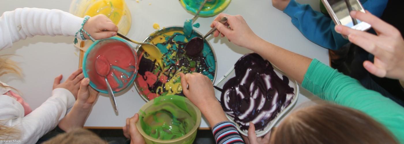 Farben, malen, Kinder