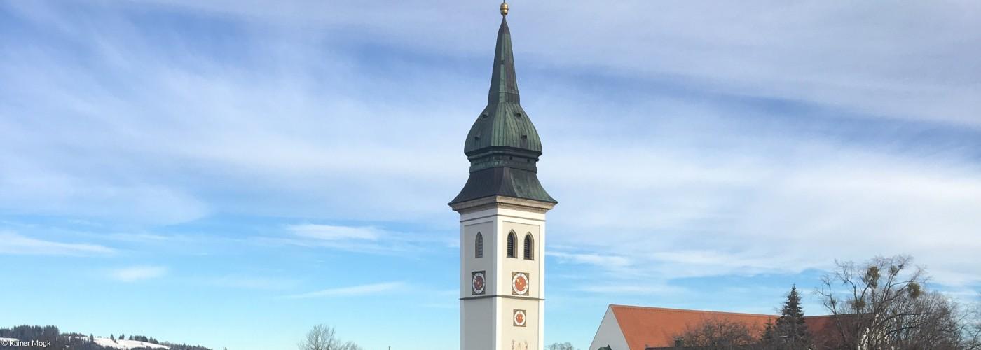 Rottenbuch kath. Kirche Ansicht